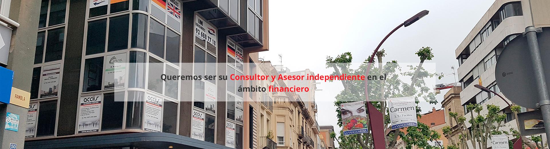 Consultoria financera i control de gestió